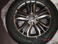 Hyundai ix 35 alloy wheel & tyre