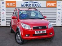 Daihatsu Terios SX (STUNNING 4X4) FREE MOT'S AS LONG AS YOU OWN THE CAR!! (red) 2007