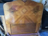 2 x French Antique Single Beds ( including mattresses)