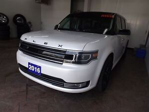 2016 Ford Flex LIMITED AWD LEATHER SUNROOF NAV 7 PASS Kitchener / Waterloo Kitchener Area image 8