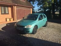 Vauxhall corsa 1 litre twin port ,,,12 months mot