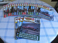 Rail Enthusiast/Steam World and assorted rail books...