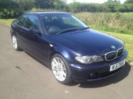 2003 Facelift BMW 318i SE Coupe 6mth warranty 1yrs Mot