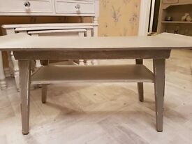 shabby chic coffee table fully refurbished