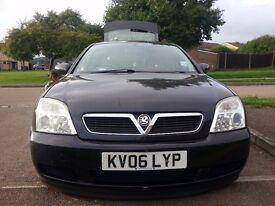 Excellent Condition Vauxhall Vectra Black