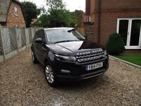 Land Rover Range Rover Evoque 2.2 SD4 Pure Tech 4x4 5dr 2014 with remaining Landrover warranty