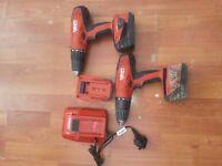 hilti cordless hammer drills