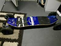 Electric mountain board mountainboard skateboard