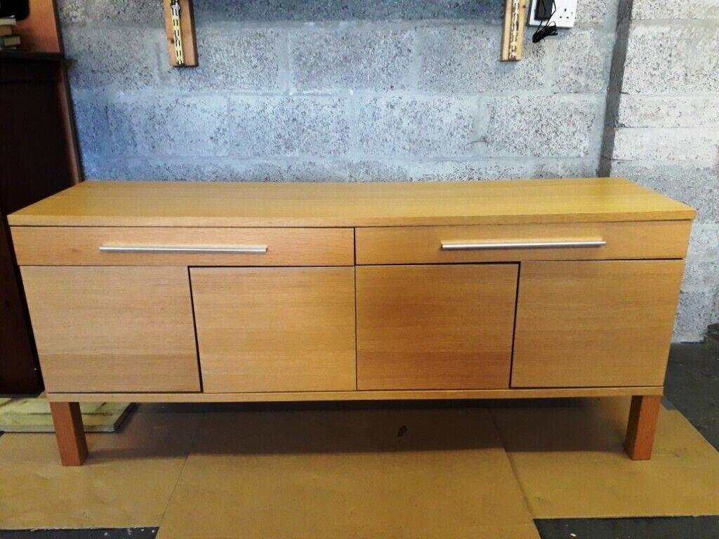 Modern storage bureau light brown ikea in inverness highland