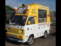 ICE CREAM VAN Vauxhall Rascal Soft Scoop Ice Cream Van. In extremely good condition inside and out.