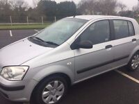late 2004 1.1 getz cheap to tax and insure