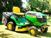 John Deere X135R Ride On Mower - Rear collection - Lawnmower - Stiga/countax/Husqvarna/Kubota