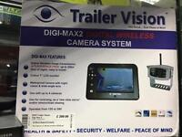 Trailer Vision - Digi-max 2 camera system boxed NEW
