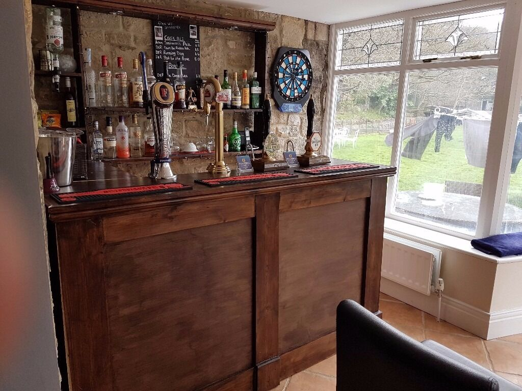 Man Cave Drinks Bar : Custom built home bar pub mancave drinks man