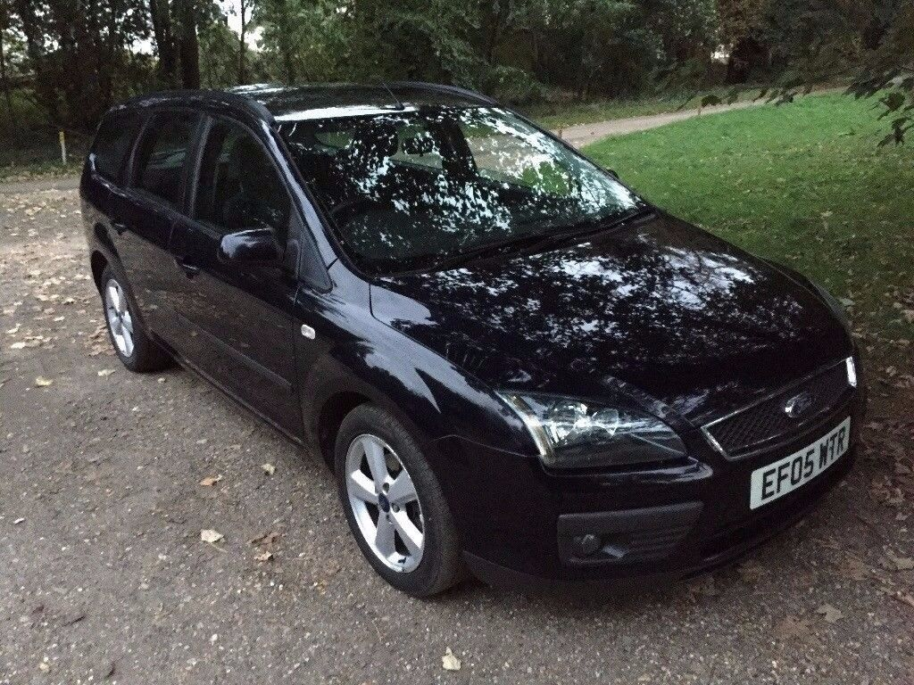 -Diesel- 2005 Ford Focus Estate 1.6 TDCi MOT February 2018, Service History