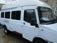 ldv camper motor home needs finishing