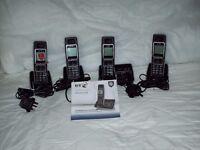 A BT6500 quad home phone