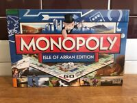 BRAND NEW & SEALED - OFFICIAL ISLE OF ARRAN MONOPOLY GAME BY PARKER - COLLECTOR'S ITEM