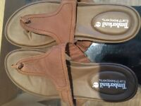 Immaculate leather Timberland sandals size 7