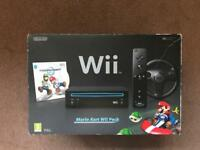 Nintendo Mario Cart Wii pack Black Edition