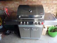 Swiss Grill Gas BBQ (6 burner used less than 10x)