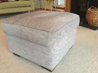 Upholstered good quality footstool