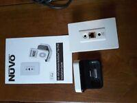 NuVo Remote NuVoDock for iPod NV-RIPD & Remote NuVoDock Receiver NV-RIPR