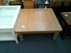 Large square coffee table #30482 £35