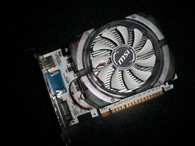 MSI GeForce GT 730 4096MB GDDR3 PCI-Express Graphics Card