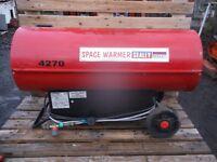 Sealey LP400 gas space heater 35 – 109kw dual voltage