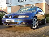 2001. Seat Leon Tdi SE / 5 DOOR HATCHBACK. 1.9 DIESEL. Selling due upgrading to family car.