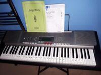 Casio LK230 61-Key Lighted Keyboard USB MIDI £50