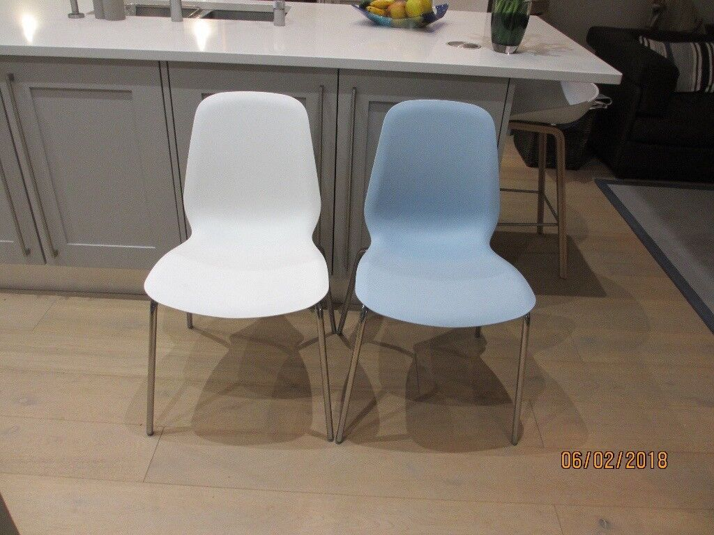 4 Leifarne Ikea Kitchen Dining Chairs For Sale In