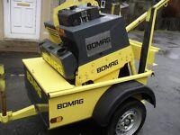 Bomag BW71 e2 pedestrian roller