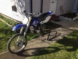 Rat bike 125 cc unsure of exact specifics as was brought for project