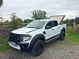 62 reg FORD RANGER / RAPTOR 2.2 TDCI XL CUSTOM 4X4 DEALER HISTORY EXCELLENT CONDITION