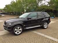 BMW X5 3.0D SPORT AUTOMATIC FACE LEFT SERVICE HISTORY 55 PLATE