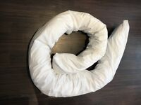 Maternity pregnancy support pillow