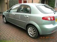 CHEVROLET LACETTI SX 1598 CC [12 MONTHS MOT] LOVELY COND