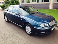 Rover 75 1.8 club in lovely condition low mileage long mot till April 2017 full service history