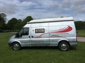 Ford Transit 350TD LWB High Top Campervan Excellent runner 12 month MOT great spec/condition