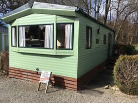 Fantastic 2 bed caravan sited at fell end holiday park, cumbria