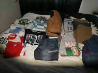 boys large clothes bundle 12-13 years
