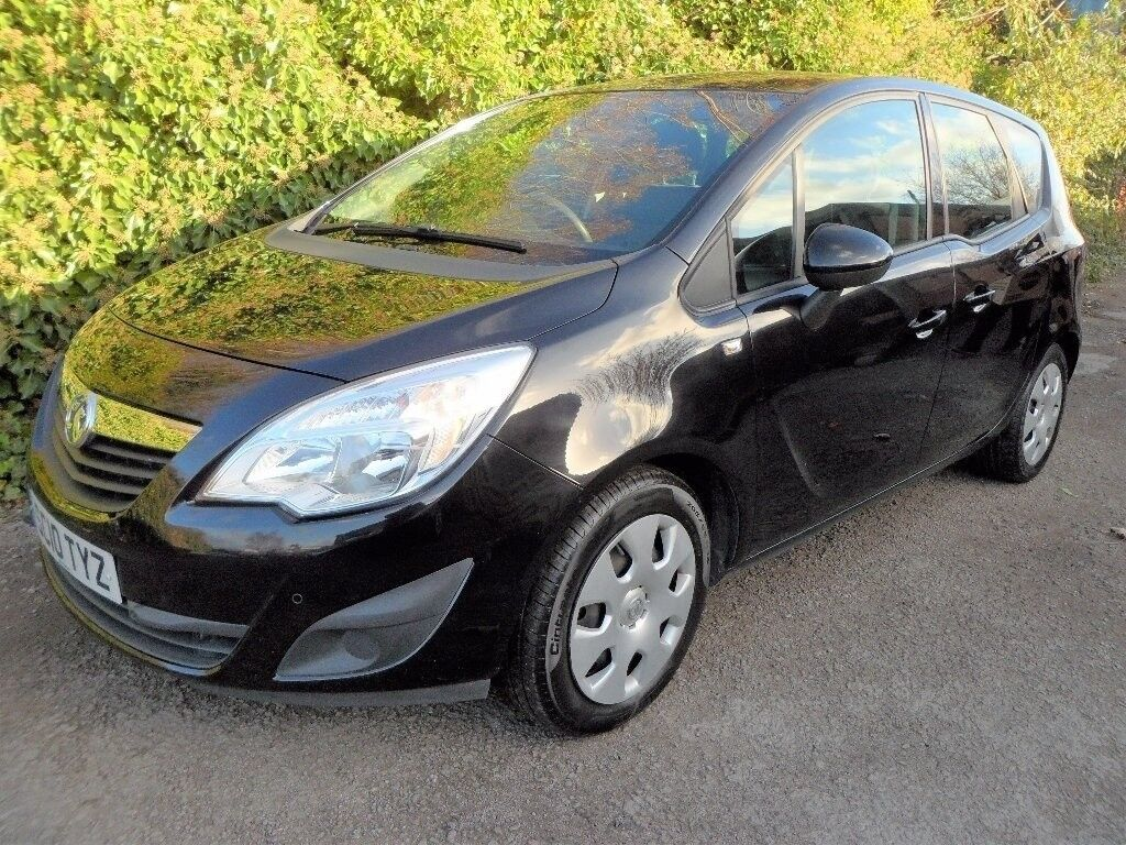 VAUXHALL MERIVA 1.4 i 16V EXCLUSIVE 5DR (A/C) SERVICES HISTORY WARRANTY FINANCE AVAILABLE