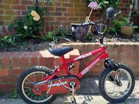 "Road Block 14"" Wheel child's bicycle"
