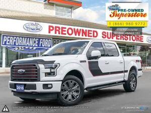 2016 Ford F-150 LARIAT***FX4 Special Edition Package***