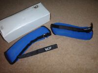 Several brand new ankle/wrist weights