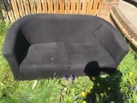 Free two seater cloth sofa