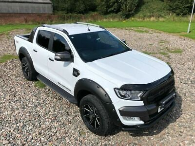 FORD RANGER Onwards 2016 BONNET WIND STONE DEFLECTOR PROTECTOR GUARD - NEW