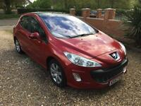 Peugeot 308 HDI, 2.0, 140 bhp, diesel, 6 speed with Full Service History